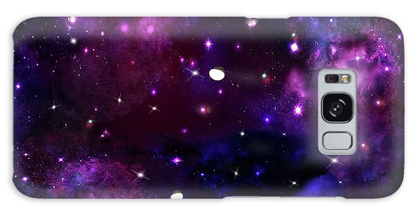 Midnight Blue Purple Galaxy Galaxy Case