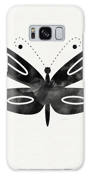 Insects Galaxy Case - Midnight Butterfly 1- Art By Linda Woods by Linda Woods
