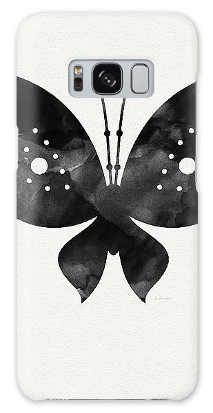 Midnight Butterfly 2- Art By Linda Woods Galaxy Case
