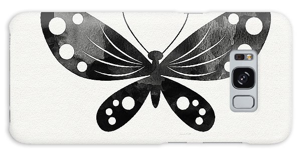 Insect Galaxy Case - Midnight Butterfly 3- Art By Linda Woods by Linda Woods