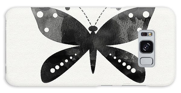 Insect Galaxy Case - Midnight Butterfly 4- Art By Linda Woods by Linda Woods
