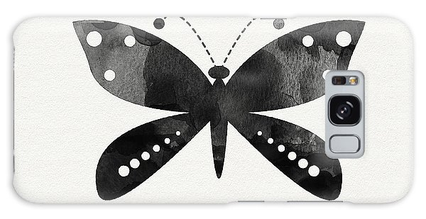 Insects Galaxy Case - Midnight Butterfly 4- Art By Linda Woods by Linda Woods