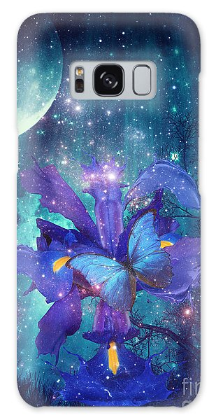 Midnight Butterfly Galaxy Case by Mo T