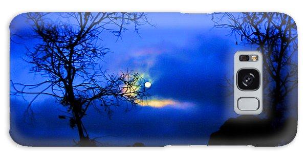 Midnight Clouds Galaxy Case by Blair Stuart