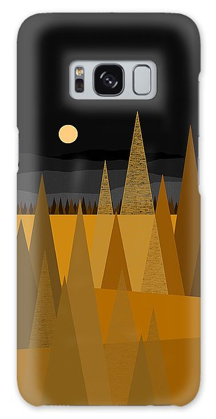 Midnight Gold Galaxy Case by Val Arie