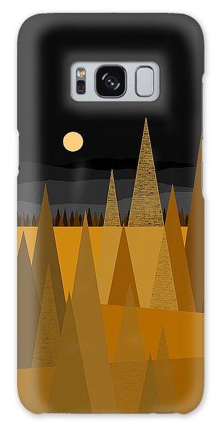 Midnight Gold Galaxy Case