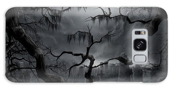 Midnight In The Graveyard II Galaxy Case