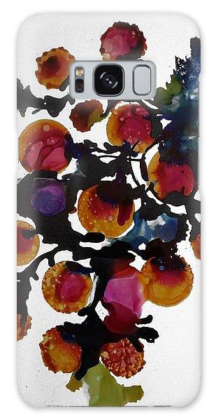 Midnight Magiic Bloom-1 Galaxy Case by Alika Kumar