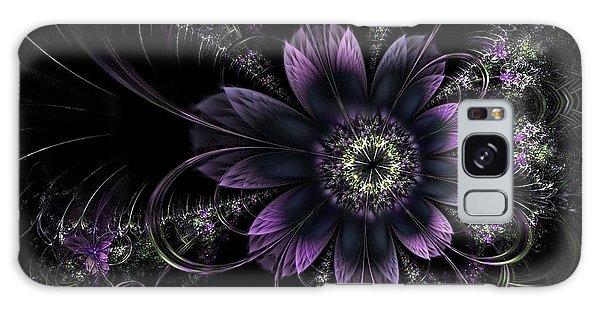 Midnight Mistletoe Galaxy Case