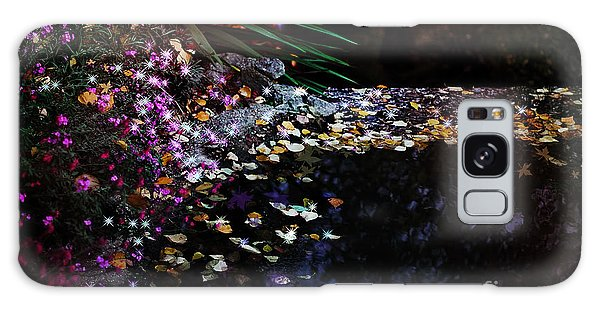 Fairy Pools Galaxy Case - Midnight Oasis by Jasna Buncic