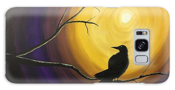 Midnight Raven Galaxy Case