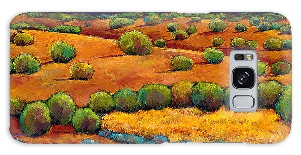Desert Galaxy S8 Case - Midnight Sagebrush by Johnathan Harris