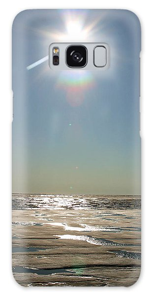 Midnight Sun Over The Arctic Galaxy Case