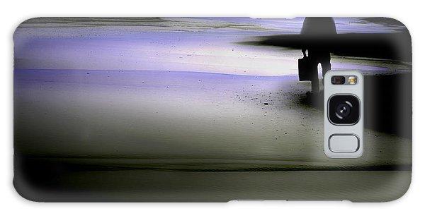 Midnight Wanderer Galaxy Case by Gray  Artus
