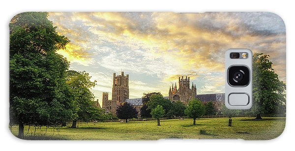 Galaxy Case featuring the photograph Midsummer Evening In Ely by James Billings