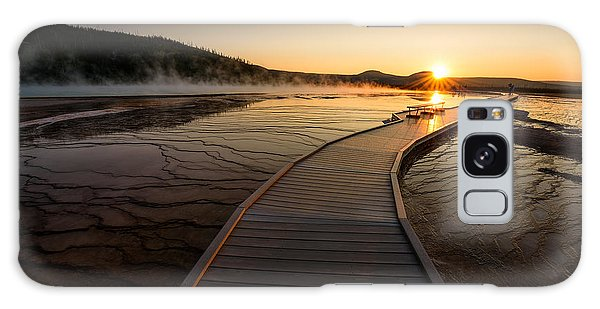 Midway Basin Sunset Galaxy Case by Dan Mihai
