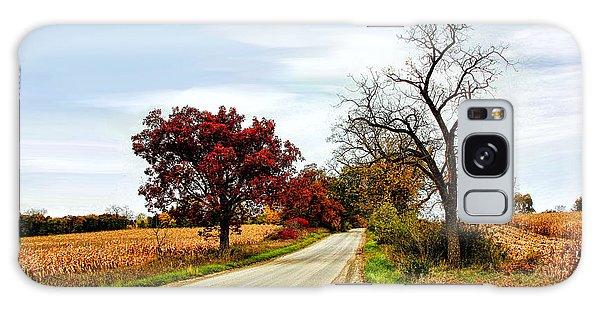Midwest Autumn  Galaxy Case