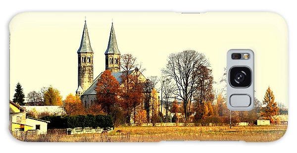 Miedzierza Church Galaxy Case by Henryk Gorecki