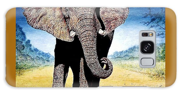 Mighty Elephant Galaxy Case by Hartmut Jager