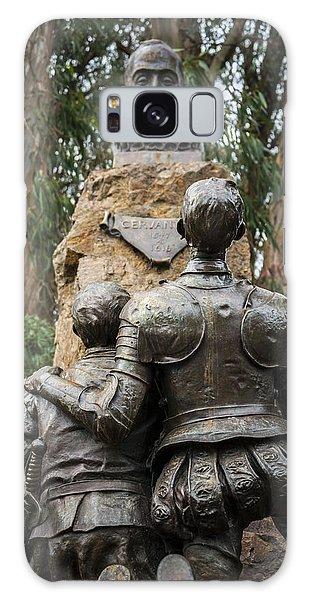 Miguel De Cervantes Memorial Galaxy Case