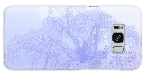 Galaxy Case featuring the photograph Miharu Takizakura Weeping Cherry01 by Tatsuya Atarashi