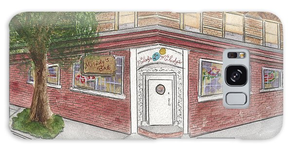 Milady's Bar In Soho Galaxy Case by AFineLyne