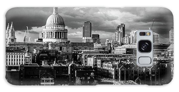 Milennium Bridge And St. Pauls, London Galaxy Case