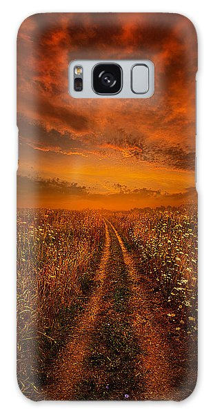 Galaxy Case featuring the photograph Miles And Miles Away by Phil Koch