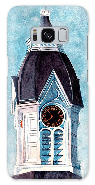Milford Clock Tower Galaxy Case