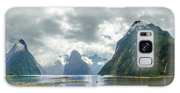 Milford Sound Panorama Galaxy Case