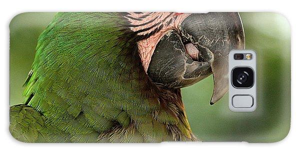Military Macaw Galaxy Case
