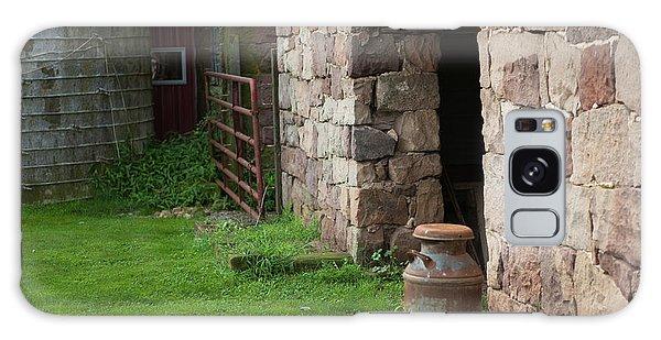 Milk Can At Stone Barn Galaxy Case
