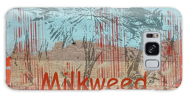 Milkweed Collage Galaxy Case