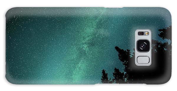 Milky Way Above The Trees Galaxy Case