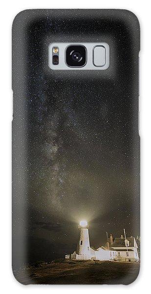 Milky Way At Pemaquid Light Galaxy Case