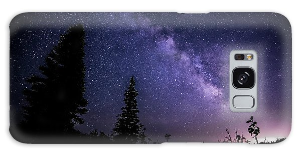 Milky Way At Powder Mountain Galaxy Case