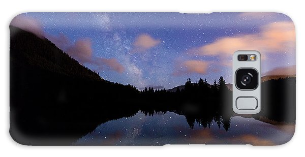 Milky Way At Snoqualmie Pass Galaxy Case