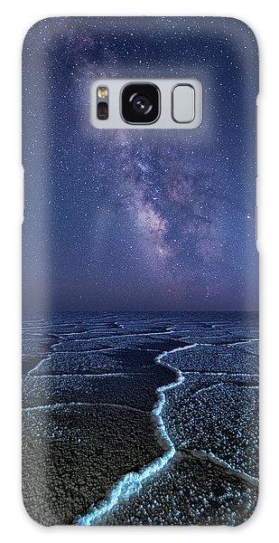Milky Way At The Salt Flats Galaxy Case