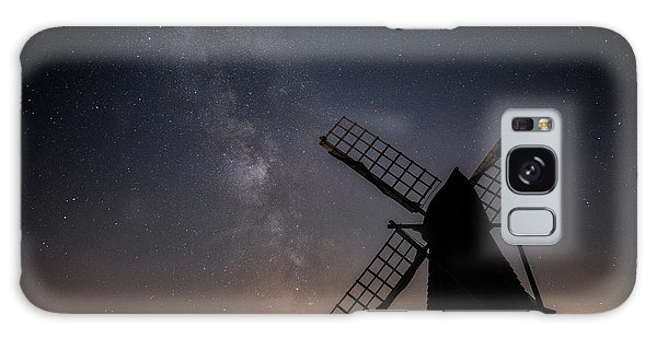 Galaxy Case featuring the photograph Milky Way At Wicken by James Billings