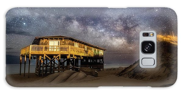 Milky Way Beach House Galaxy Case