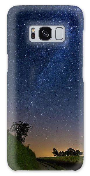 Galaxy Case featuring the photograph Milky Way by Davor Zerjav