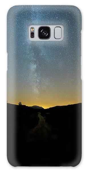 Galaxy Case featuring the photograph Milky Way Geres 1 by Bruno Rosa