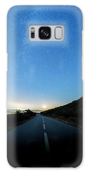 Galaxy Case featuring the photograph Milky Way Geres 4 by Bruno Rosa