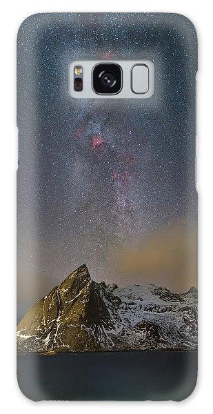Milky Way In Lofoten Galaxy Case