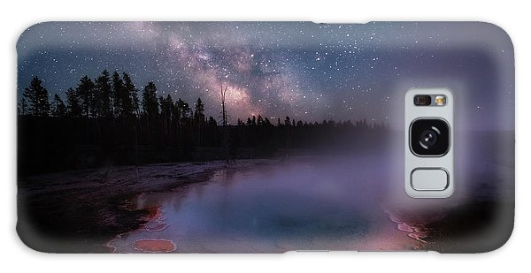 Milky Way In Yellowstone Galaxy Case