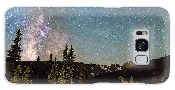 Indian Peaks Wilderness Galaxy Case - Milky Way Magic Above Longs Lake And The Indian Peaks by James BO Insogna