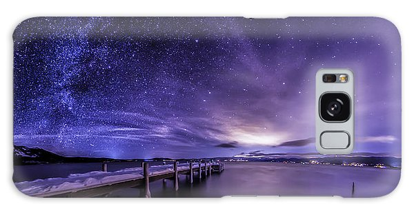 Milky Way Mountains Galaxy Case