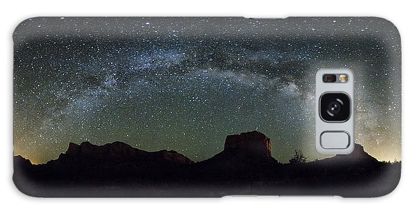 Milky Way Over Bell Galaxy Case
