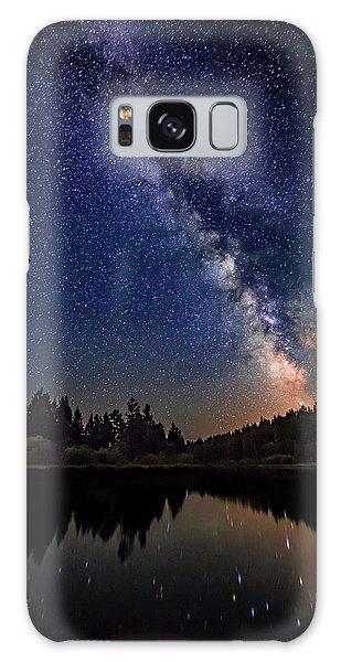 Milky Way Over The Deschutes River Galaxy Case
