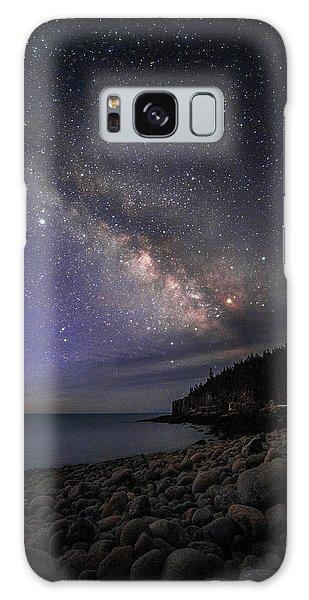 Milky Way Over Boulder Beach Galaxy Case